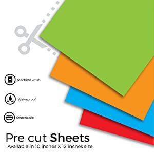 PU glitter HTV heat transfer sheets thin with great elasticity Cotton Polyester Cotton Poly Blend