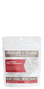 Strawberry Vanilla Buckwheat Breakfast