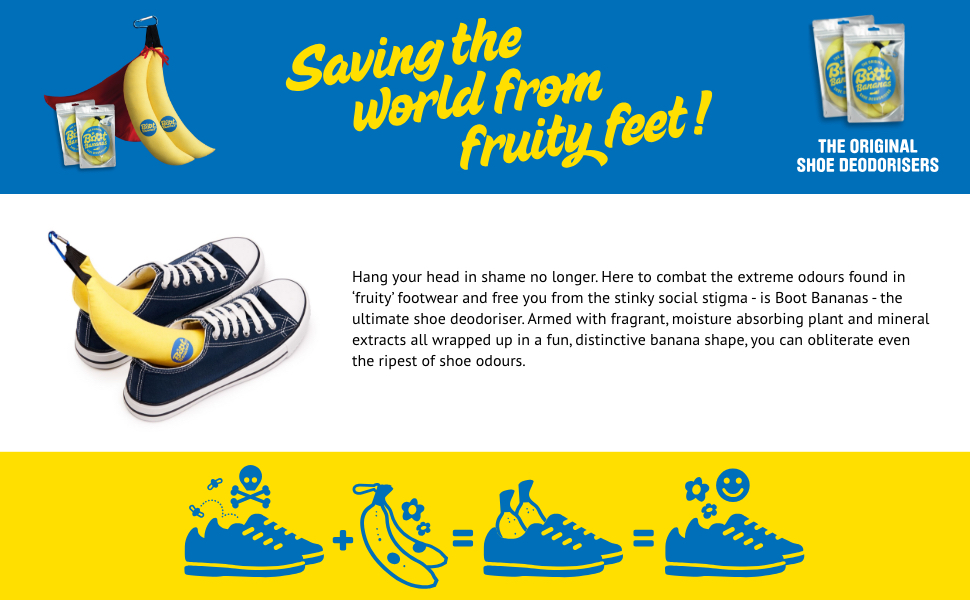 Saving the world from fruity feet