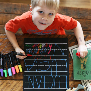kids love chalkola chalk markers use on non porous surfaces like chalkboard windows classroom