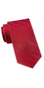Rochester by DXL Designed in Italy Diagonal Stripe Tie