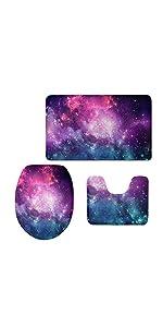 galaxy toilet set