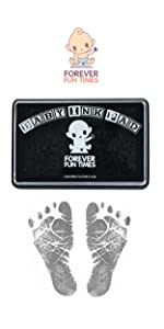Baby hand and footprint kit, Baby safe ink pad, baby handprint kit, baby ink pad, baby safe ink pad