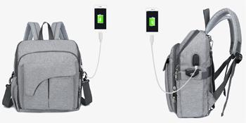 multifunction diaper backpack