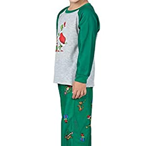 side and front of pajamas