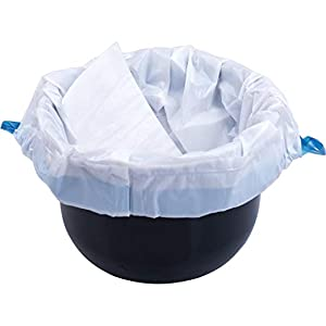 Commode Liner Disposable Bags