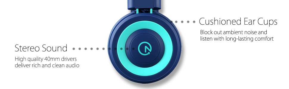 kids on-ear headphones