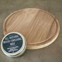 all natural wood cutting board seasoning coconut wax to help take care of your wooden kitchen tools