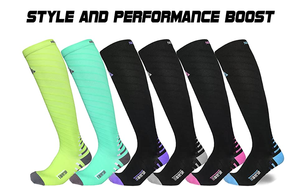 Style and Performance Boost (Newmark Compression Socks)