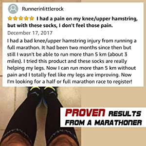 Proven Results (Newmark Compression Socks)