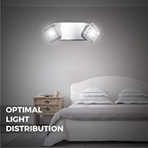 OPTIMAL LIGHT DISTRIBUTION