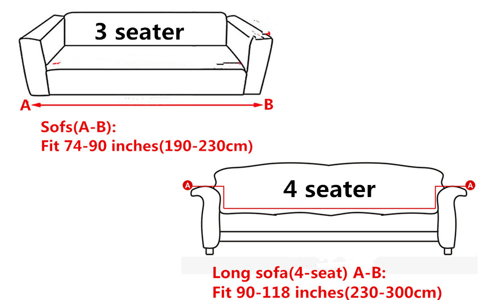 Sofa Cover Slipcover Protector