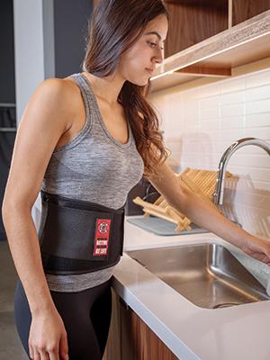 Adjustable Back Support Belt with Reinforced Lumbar Support for Men & Women