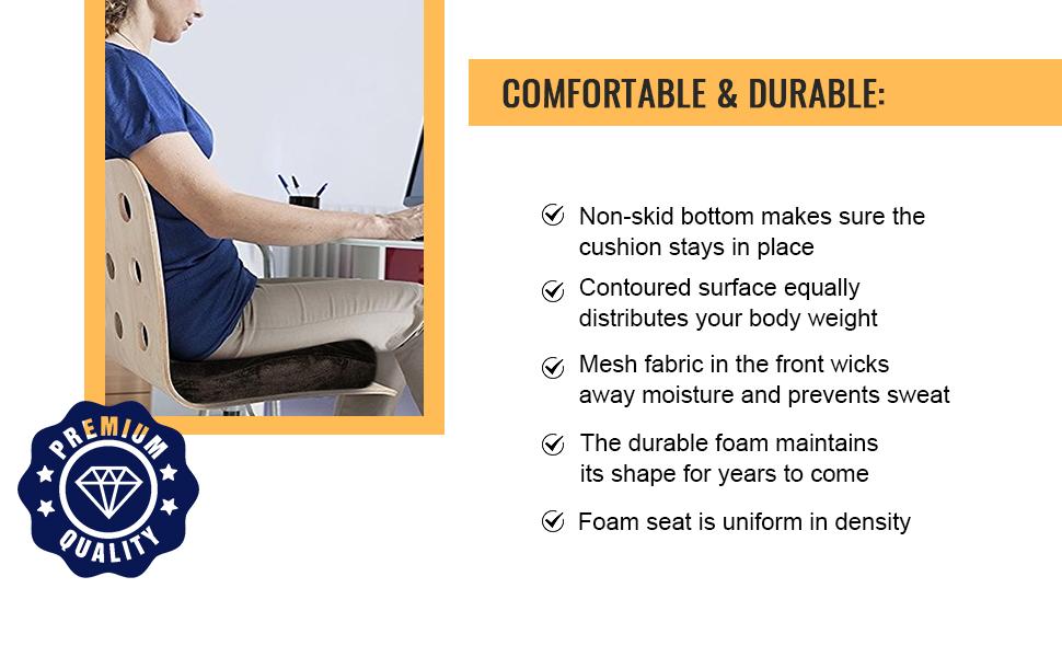quality foam seat cushion