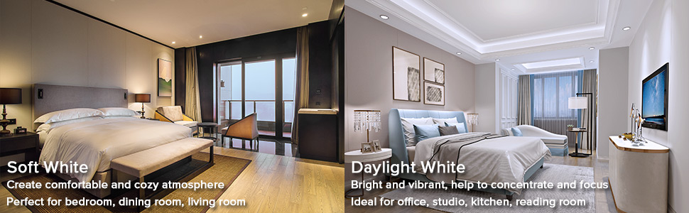 soft warm white daylight led light bulbs
