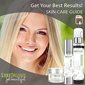 organic face moisturizer lotion vitamin c all natural anti aging cream luxeorganix B07PDJ8SB3
