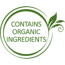 Contains Organic Ingredients