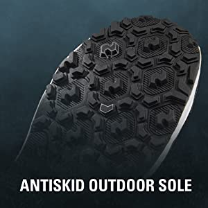 antiskid rubber outsole