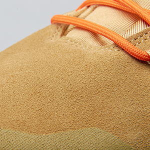 suede leather upper