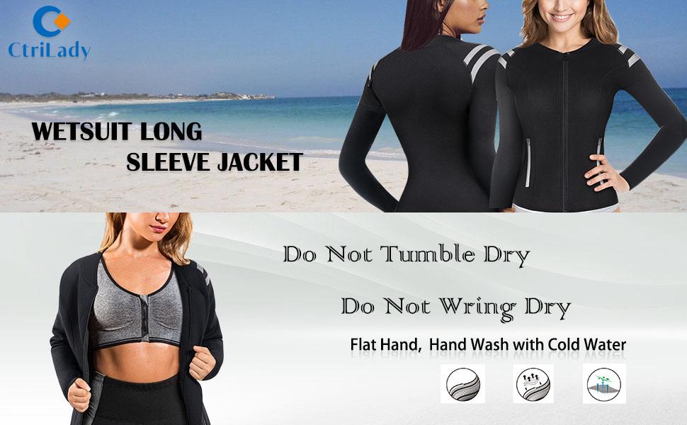 wetsuit long sleeve jacket