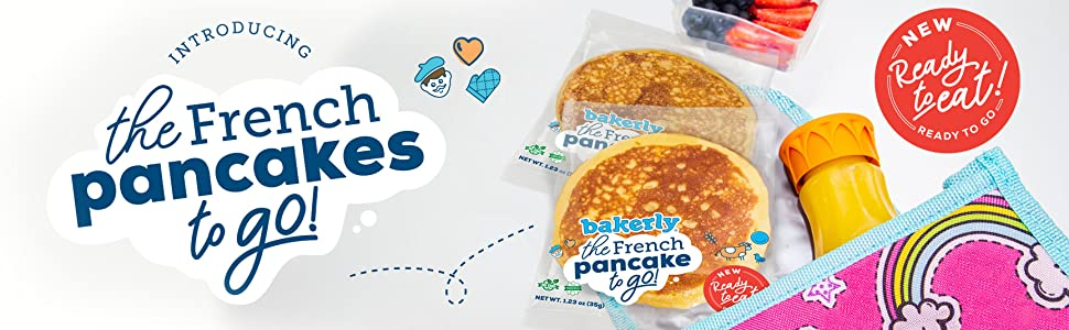 the French pancakes to go!