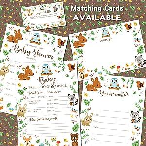 Woodland cards