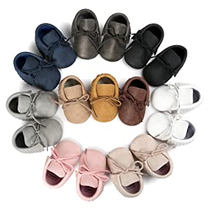 colorful baby shoes