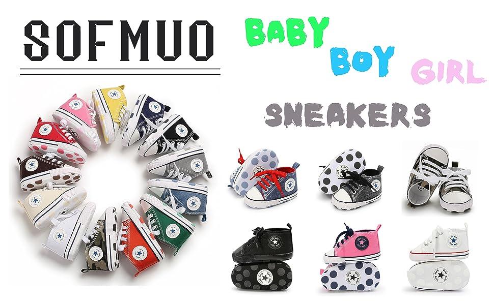 sofmuo unisex baby shoes