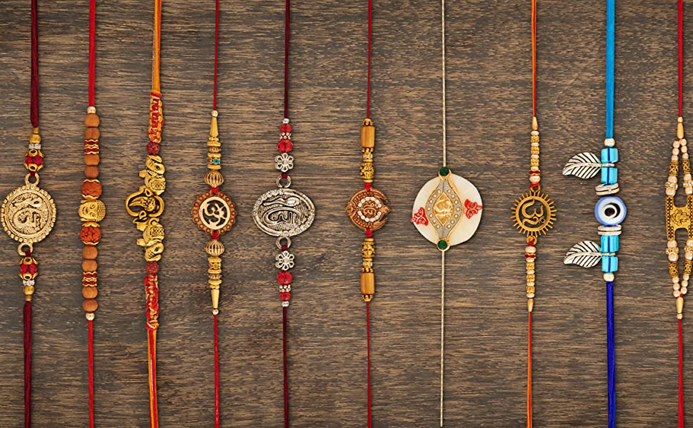 120 mix design rakhi set Rakhi for brother Raksha Bandhan rakhi bundle set of 120