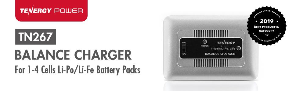 TN267 Balance Charger for 1-4 cells li-po/li-fe Battery Packs