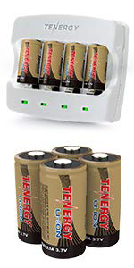 rechargeable batteries and charger for arlo