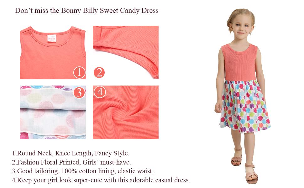 girls dress details