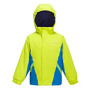 boys hooded winter ski jacket