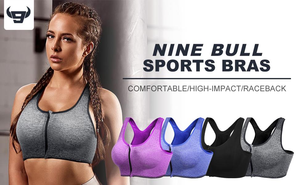nine bull sport bras