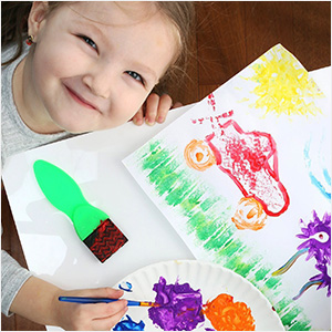 EARLY LEARNING KIDS PAINT SET