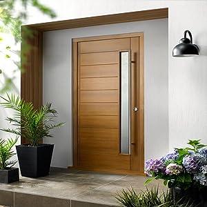 copper door pull entry door handle barn door pull handle barn door contemporary barn door handle