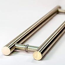 stainless steel door pull handles modern door pull contemporary entry door pulls ladder handle
