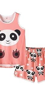 Sleeveless pajamas