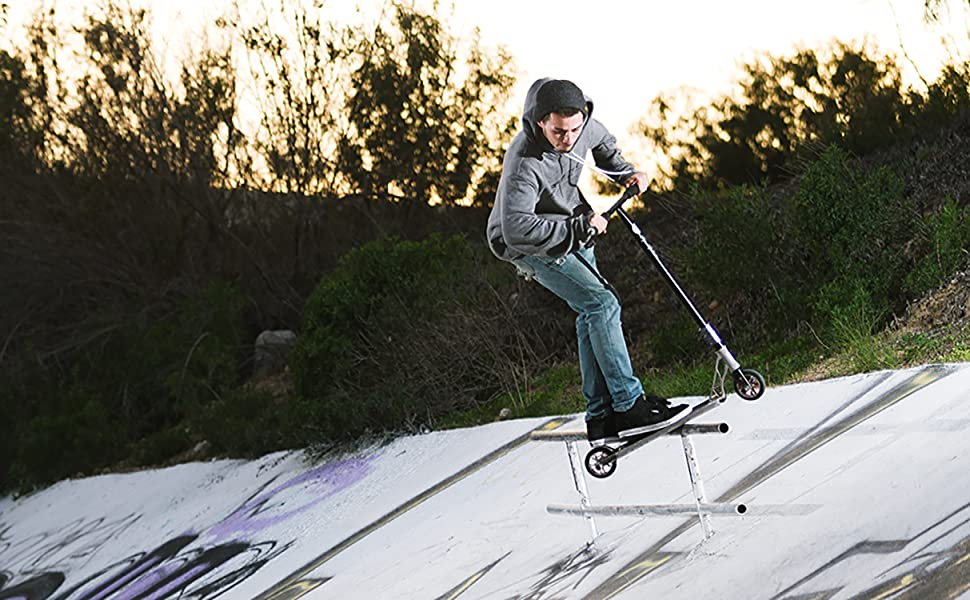 Grit Pro Scooters - Grit Atom Trick Scooter Stunt Scooter for Kids