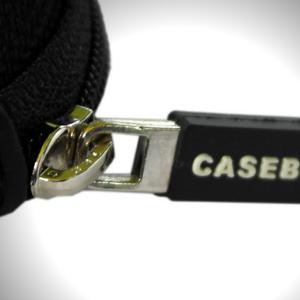 CASEBUDi Triple Watch Travel Case with YKK zipper