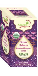 Passiflora Tea with Passion Flower & Carob