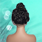 water wave 360 lace frontal human hair wigs