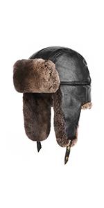 Rex Rabbit Fur Trapper Hat