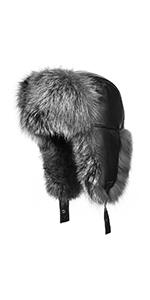 Fox Fur Trapper Hat