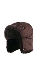 Sheepskin Trapper Hat