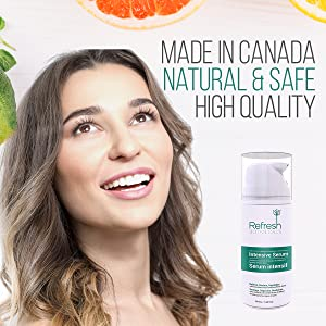 young skin gorgeous made in canada safe with no harsh harmful chemicals vitamin c mix with lotion