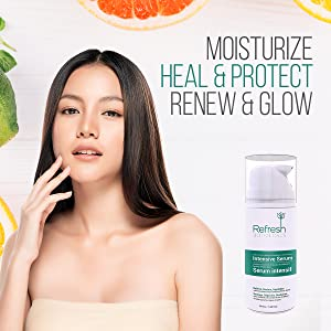 heal protect skin natural daily moisturizer three step skin care routine youth repair serum quality