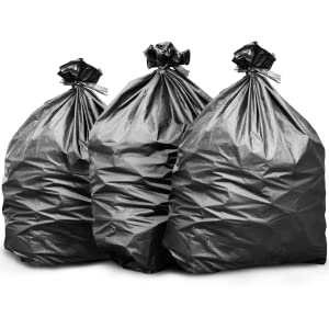 "16-25 Gallon (30"" x 37"") 500 Bags Mega Pack Unique High Density Blend Star Seal Bag Bottom"