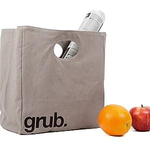 tote bag lunch bag reusable washable bag