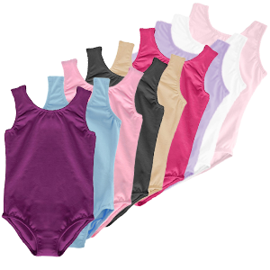 Leotard girls toddler white black purple pink ballet gymnastics dance outfit sports tap kids baby